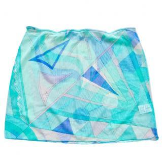 Emilio Pucci Beach mesh mini skirt