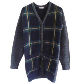 Celine tartan wool knitwear