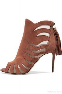 Paul Andrew Hanaa suede & mesh shoe boot size 3