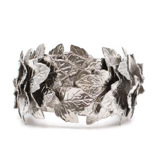 Balenciaga leaf cuff bracelet