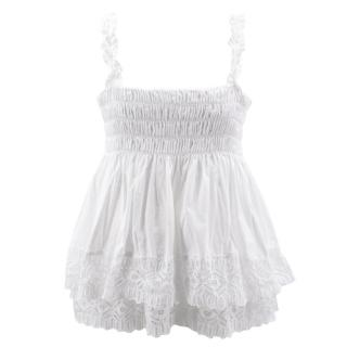 Tory Burch cotton lace top