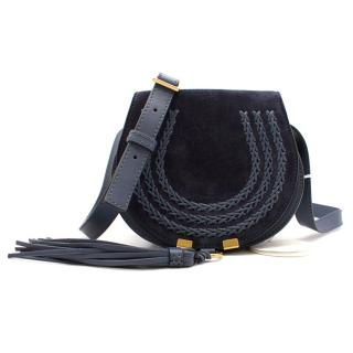 Chloe 'Mini Marcie' Suede Small Crossbody Tassel Bag