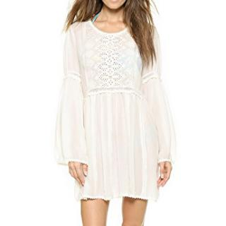 Melissa Odabash 'Anabelle' Embrordered Beach Smock Dress