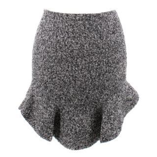 Isabel Marant drye wool-blend boucle mini skirt