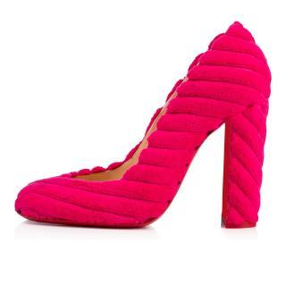 Christian Louboutin Cadrilla velvet heels