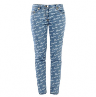 Moschino 'Boutique' printed Jeans