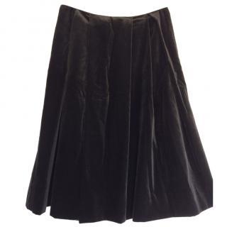 Margaret Howell velvet skirt