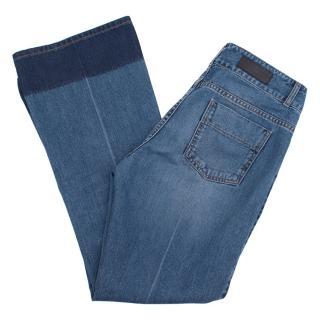 Sonia Rykiel denim wide leg jeans