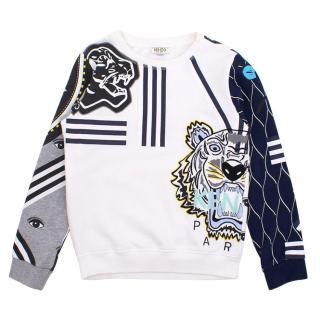 Kenzo cotton printed sweatshirt