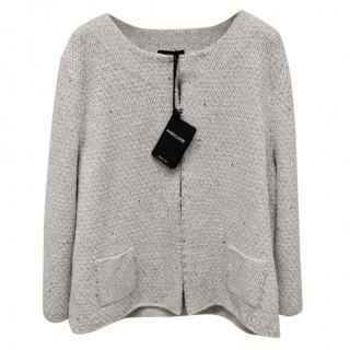 Anne Claire Silver Cardigan