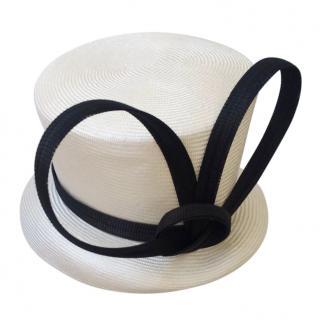 Phillip Treacy Monochrome Top Hat