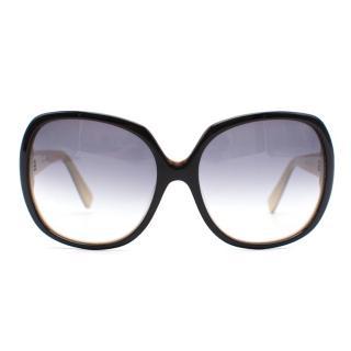 DITA Supa-dupa Oversized Gradient Lense Sunglasses