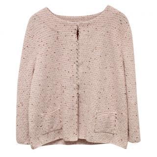 Pink Cardigan Jacket