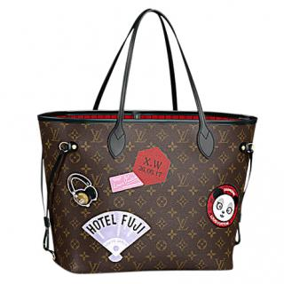Louis Vuitton Neverfull MM World Tour Tote
