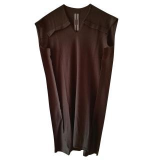 Rick Owens Sleeveless Wool Tunic