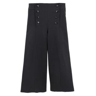 D.Exterior Cropped Wide Leg Trousers