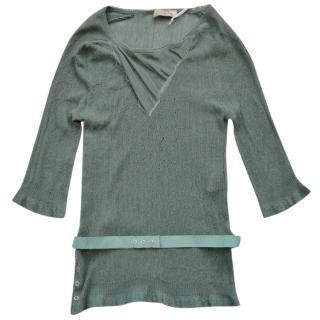 Nina Ricci lightweight knit stretch top