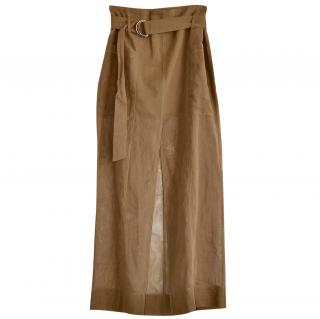 Brunello Cucinelli cotton maxi skirt