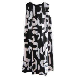 Proenza Schouler monochrome dress.