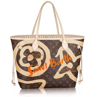 Louis Vuitton St. Barts Limited Edition Neverfull Tote