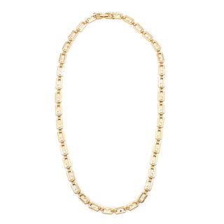 Givenchy Gold G Link Necklace