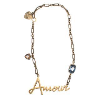 Lanvin Amour Pendant Necklace