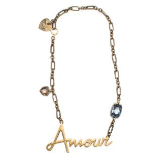 Lanvin Amour Pendant Necklace