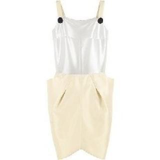 Roland Mouret RM white silk dress catwalk