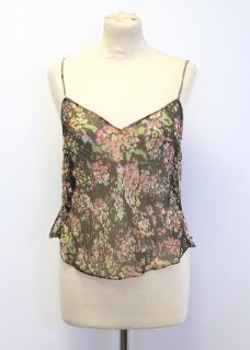 Nicole Farhi silk top
