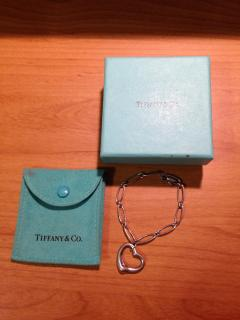 Tiffany & Co. Elsa Peretti Heart bracelet in sterling silver