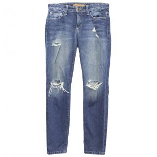 Joe's Vintage Reserve Straight Distressed Jeans new