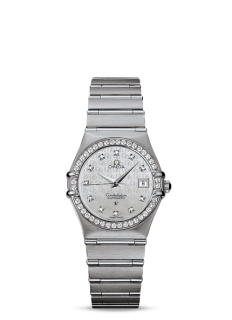 Omega Constellation ladies Diamond Bezel & Dial Automatic.
