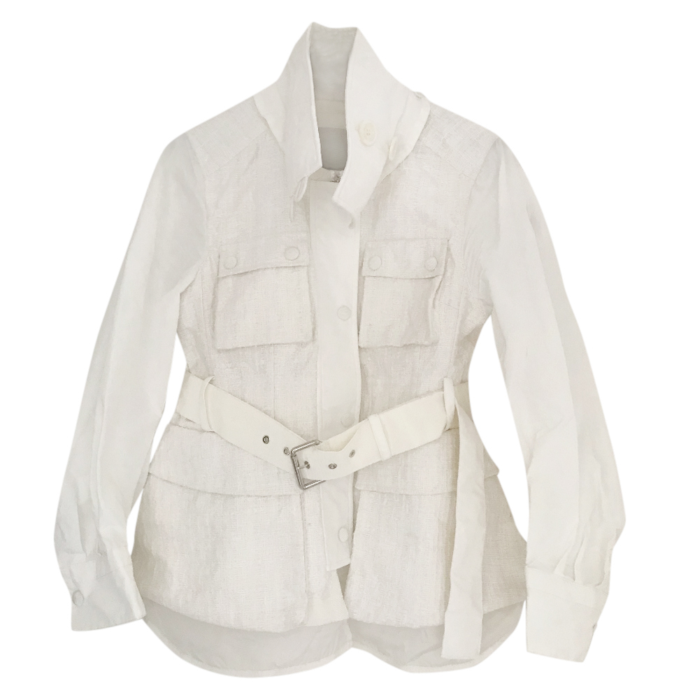 bae09e445 Moncler lightweight tweed jacket
