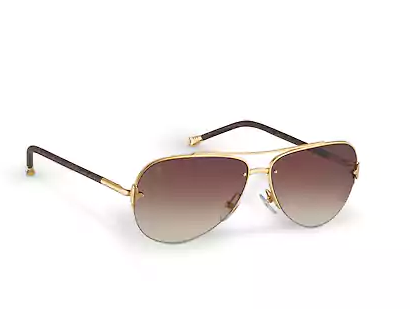fae9086b9e811 Louis Vuitton Petite Viola Pilote Sunglasses