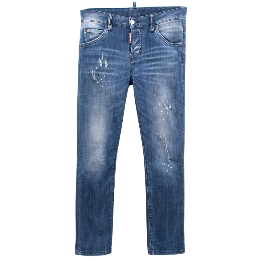 Dsquared2 ripped jeans