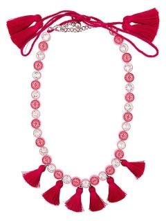 Shourouk Sautour Pink Necklace RRP �270.00