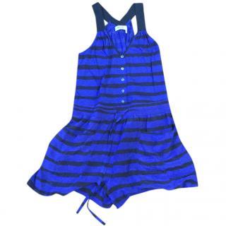 Sonia Rykiel Silk striped Jumpsuit
