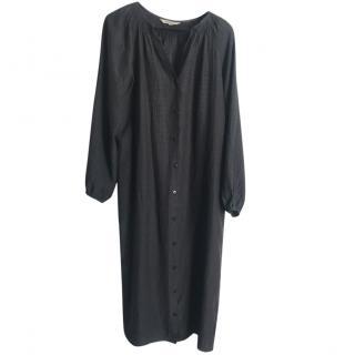 Tucker Black Shirt Dress