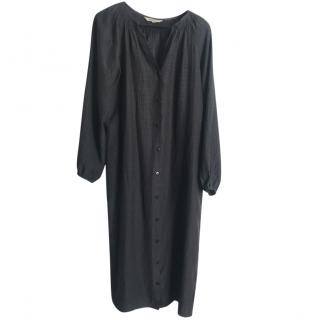 Tucker Black Shirt Dress
