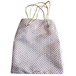 Prada Metallic Tote Bag
