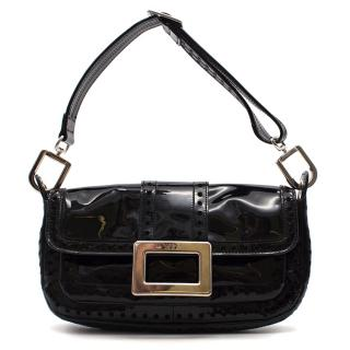 Roger Vivier Patent Shoulder Bag
