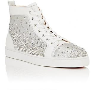 Christian Louboutin Galaxtidude Mens high top Trainers