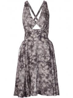 Stella McCartney grey floral summer dress