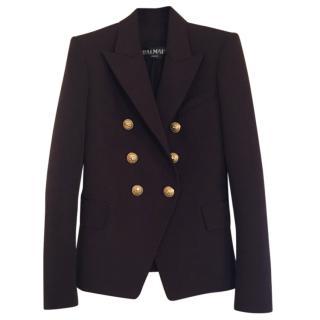 Balmain brown wool blazer