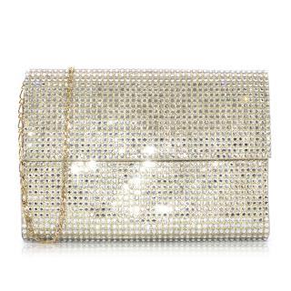 Gina London Embellished Envelope Clutch