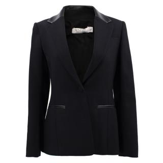 Altuzarra Acacia Leather trim Blazer