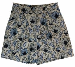 Bottega Veneta Floral Print Shorts