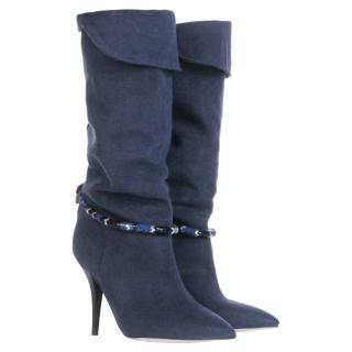 Isabel Marant 'Franklin' Denim Boots