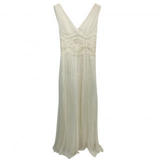 La Perla White Silk Dress