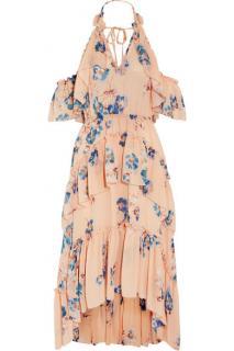 Ulla Johnson's Valentine Ruffled Floral Silk - Georgette Dress